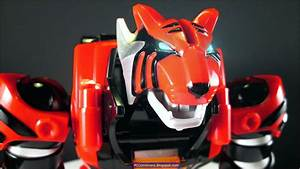 Power rangers Jungle Fury Red Tiger Zord - a photo on ...