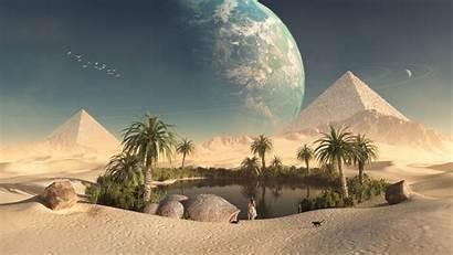 Ancient Wallpapers Egypt Egyptian Background Desert Desktop