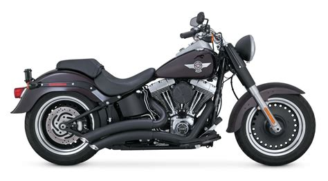 Vance & Hines Super Radius Exhaust For Harley Softail 1986