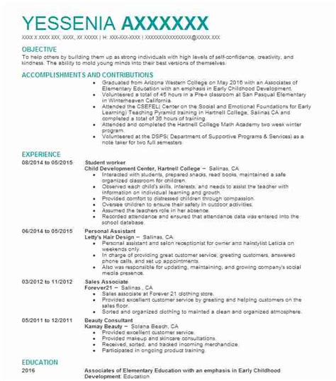 Sle Student Worker Resume by Student Worker Resume Sle Worker Resumes Livecareer