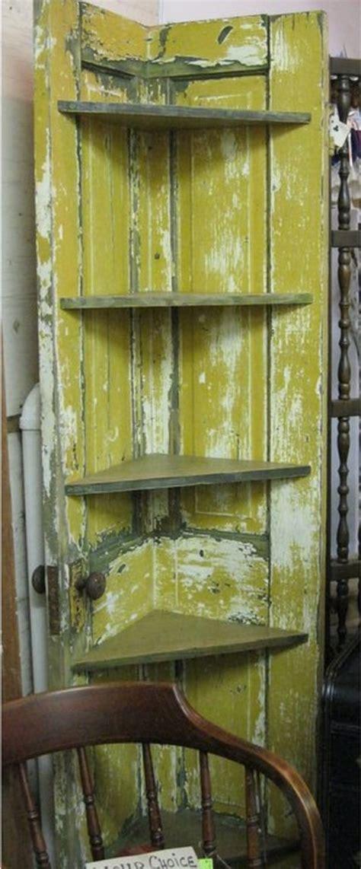 turn   door   corner shelf diy projects