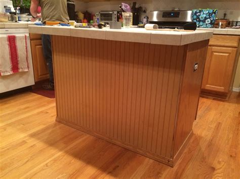 Diy Kitchen Transformation Bead Board  Ground Control To