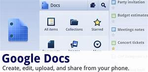free android apps download 40 cool apps for your smart With google docs upload and share