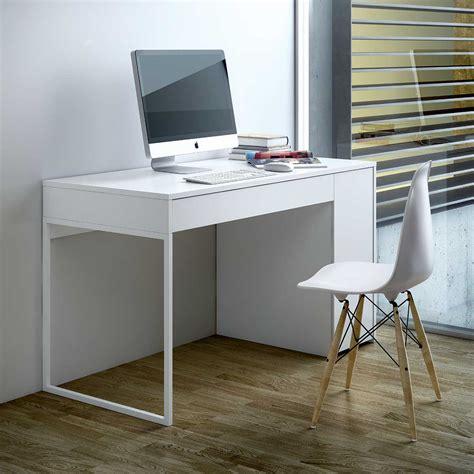 bureau moderne pas cher bureau design prado blanc achat vente bureau sur