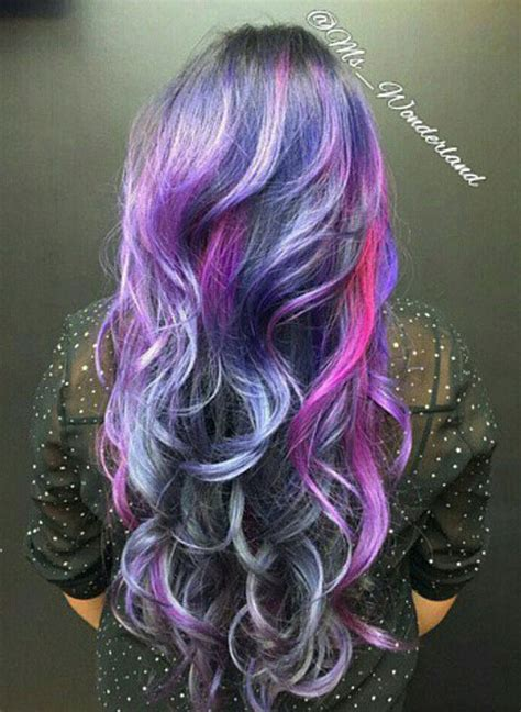 nebulae galaxy hair colors hair colors ideas