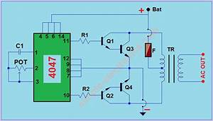 Simple 12v To 220v Dc