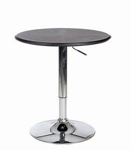 Table De Bar Ronde : tables basses et petit mobilier ~ Teatrodelosmanantiales.com Idées de Décoration