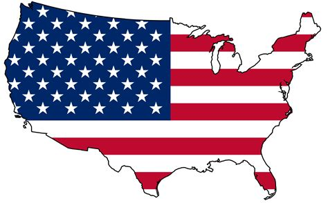 American Clipart United States Clipart Pencil And In Color United