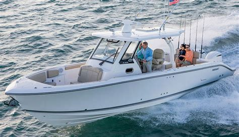 Pursuit Boats S328 by Pursuit Boats Expands Plant To Meet Demand Fin And Field
