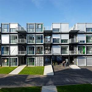 Shipping containers provides decent housing shippingguide for Shipping container apartments