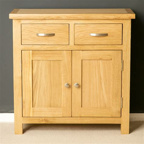 Mini Sideboards by Oak Mini Sideboard Modern Oak Small Cupboard With