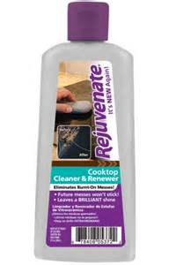 rejuvenate glass ceramic cooktop renewer clean and in one application