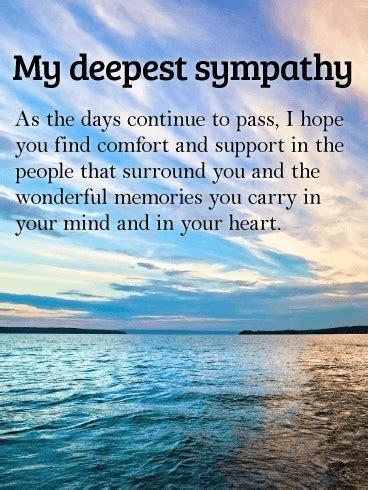 wonderful memories   heart sympathy card