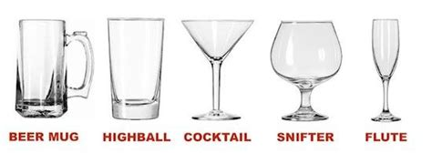 5 Different Types Of Glasses For Drinking Alcohol