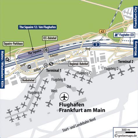 Frankfurt International Airport Terminal Map