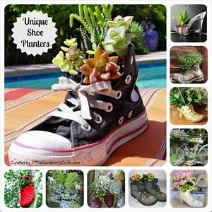 shoe planters recycled footwear makes great boot With katzennetz balkon mit garden boots