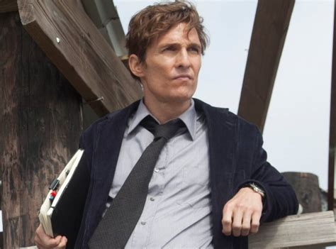 detective true mcconaughey matthew rust series cohle tv hbo return nic pizzolatto quotes plagiarism rustin dramas wants would creator actor