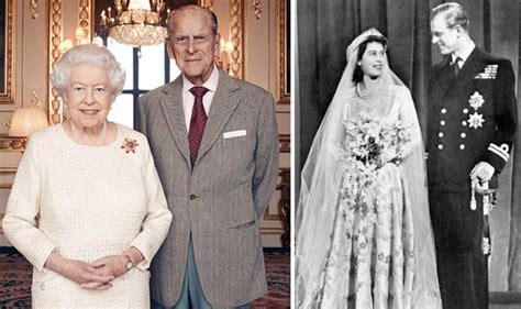 queen elizabeth  prince philips wedding anniversary