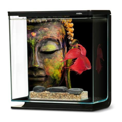 marina betta kit 3l bouddha aquarium pour combattant