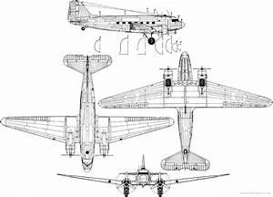 Blueprints Of A Dc 3 Dakota