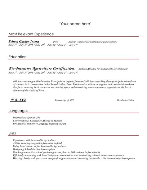 Resume Continued On Next Page by 100 Original Papers Resume 2 Pages Continued