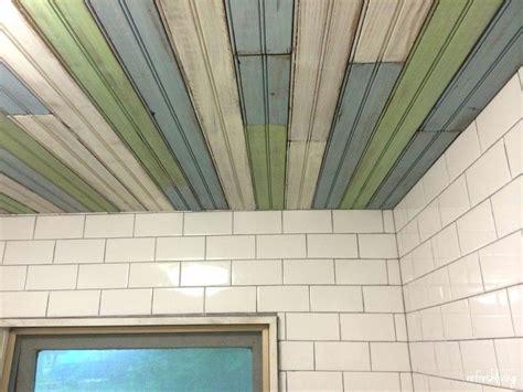 Beadboard Over Tile : Beadboard Ceiling Panels