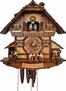 Cuckoo Clock 1-day-movement Chalet-Style 41cm by Anton ...