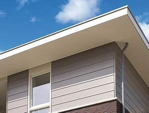 Dachüberstand Verkleiden Material : kunststoff fassadenverkleidung keralit ~ Markanthonyermac.com Haus und Dekorationen