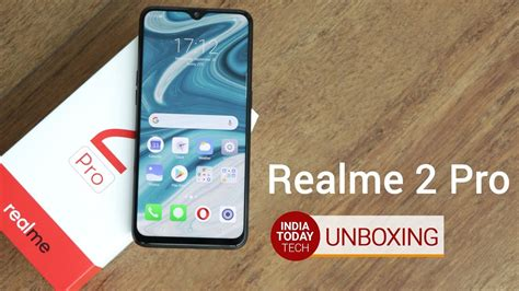 realme 2 pro unboxing and review youtube