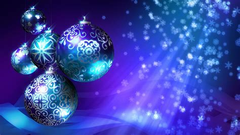 christmas background blue purple stock video footage