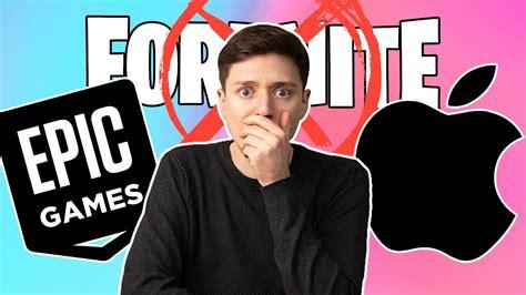 APPLE PROHÍBE FORTNITE! Epic Games va a juicio - YouTube