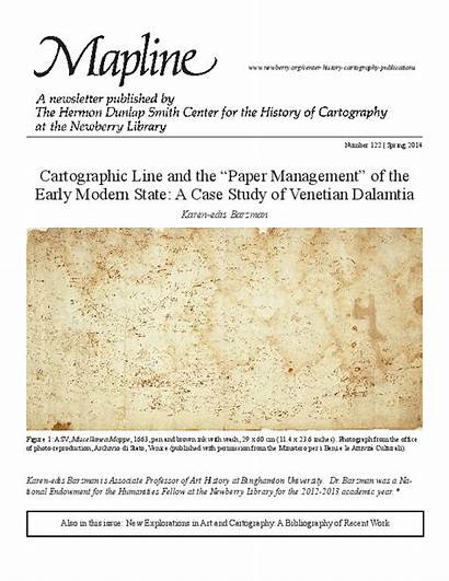 Early Venetian Cartographic Study Management State Paper