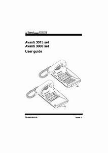 Avanti 3015 And 3000 User Guide R7 Pdf Telrad