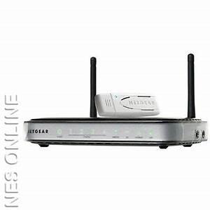 Netgear DGNB2100 Wireless-N300 Modem Router+USB adapter | eBay