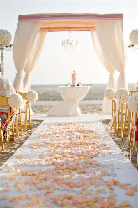 beach wedding aisle ideas inspiration bridalore