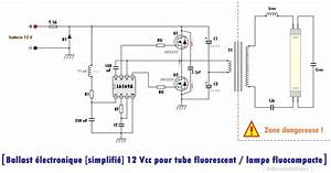Ballast Lectronique Entre 12 Vcc Pour Tubes