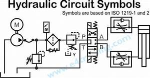 Hydraulic symbols explained for Understanding of both electrical and hydraulic circuit diagrams figure