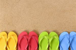 Summer Flip Flops Wallpaper - WallpaperSafari