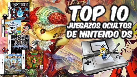 Hoy os traemos una lista de juegos de rol para todos los tipos de. Top 10 | Grandes juegos desconocidos de Nintendo DS (NDS ...