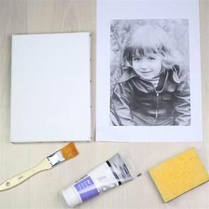 Toile Blanche A Peindre : une toile blanche une photo imprim e sur du papier de ~ Premium-room.com Idées de Décoration