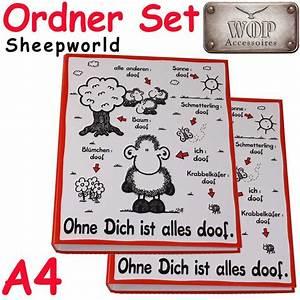 Alles Ist Doof : sheepworld ringordner ohne dich ist alles doof a4 schulordner ordner ebay ~ Eleganceandgraceweddings.com Haus und Dekorationen