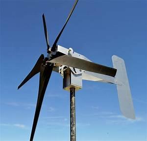 Typhoon Up Tilting Unibody Yaw Wind Turbine Generator 5kt