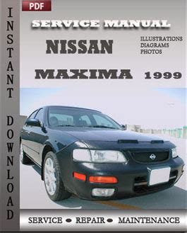free auto repair manuals 1999 nissan maxima security system nissan repair service manual pdf page 12
