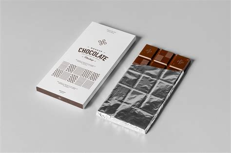 Menu mockups outlines are crucial in persuading clients to purchase particular things. 30+ Chocolate Bar Packaging PSD Mockups | Decolore.Net