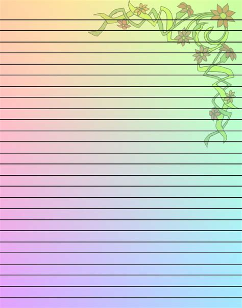 writing paper  borders  printables stationery
