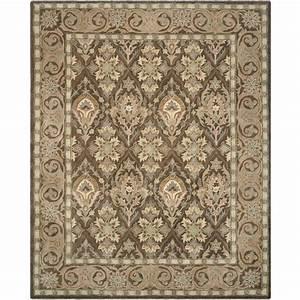 Safavieh Anatolia Brown/Beige 8 ft x 10 ft Area Rug
