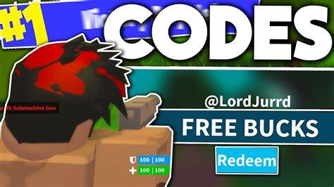 roblox island royale code  bucks roblox