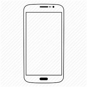 Smartphone Icon White | www.pixshark.com - Images ...
