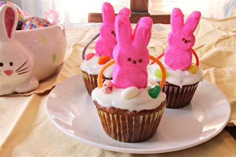 Ideas For Easter Cupcakes by Easter Basket Cupcakes A Easy Diy Project