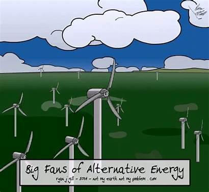 Climate Change Energy Cartoons Explained Fans Renewable